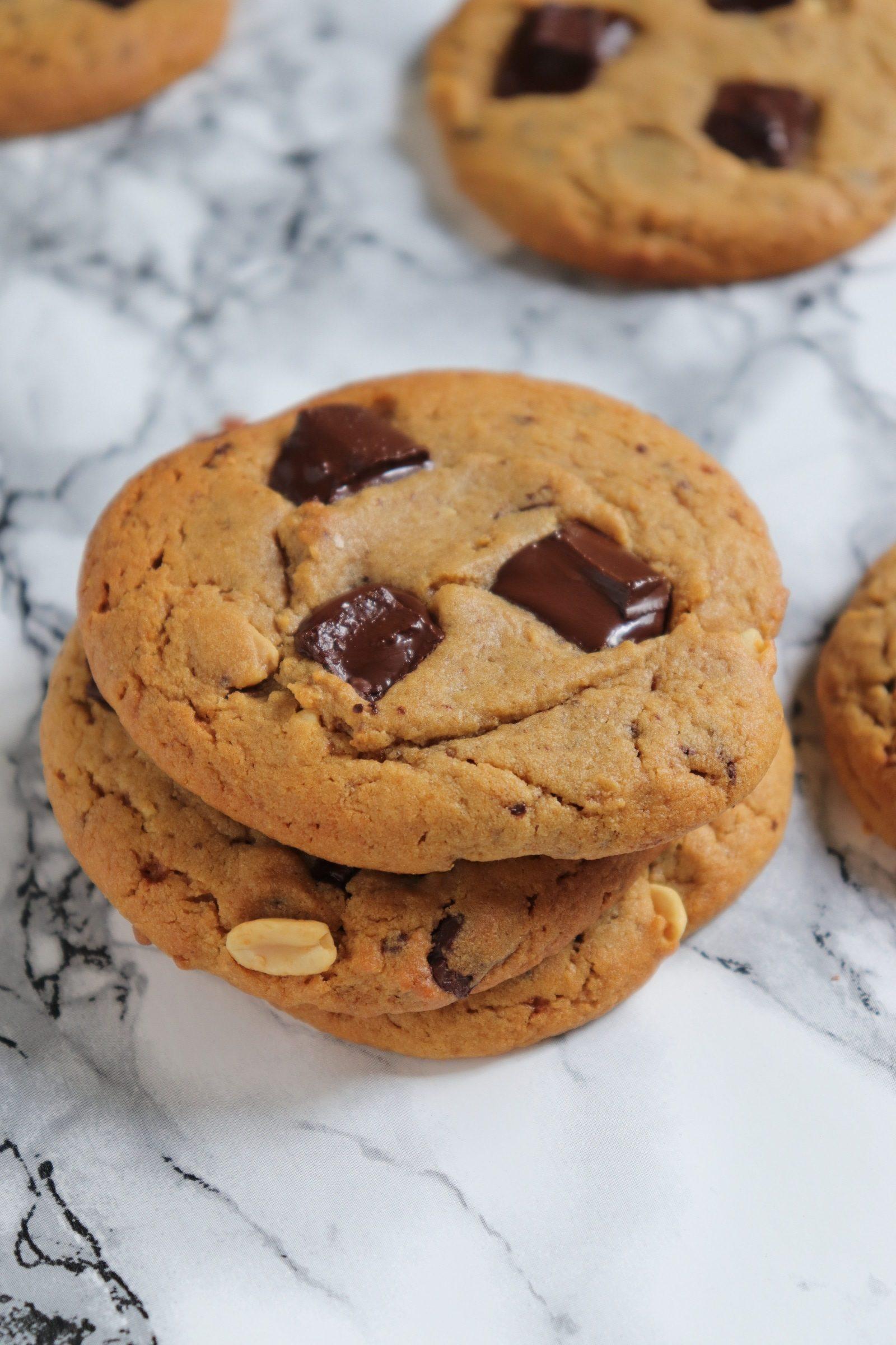 Cookie beurre de cacahuète équitables et bio