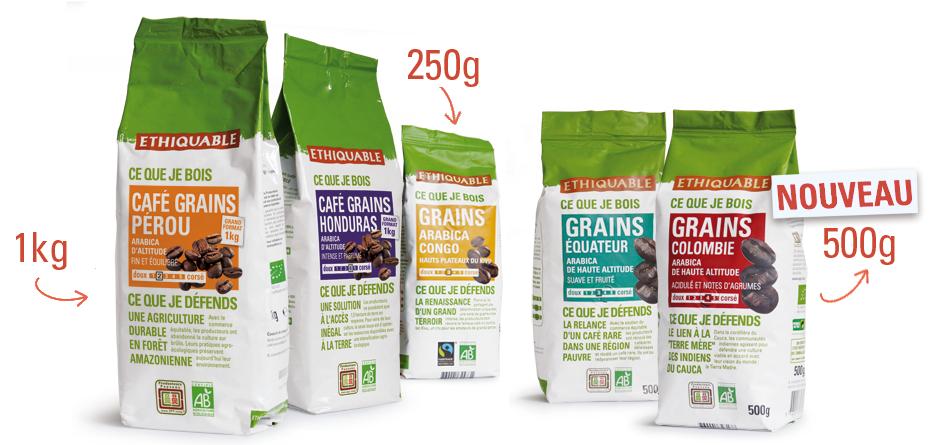 arabica grain bio equitable ethiquable