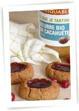 biscuit beurre de cacahuète