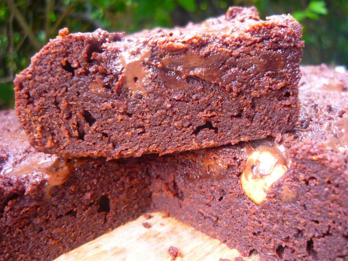 Brownie très fondant au chocolat équitable