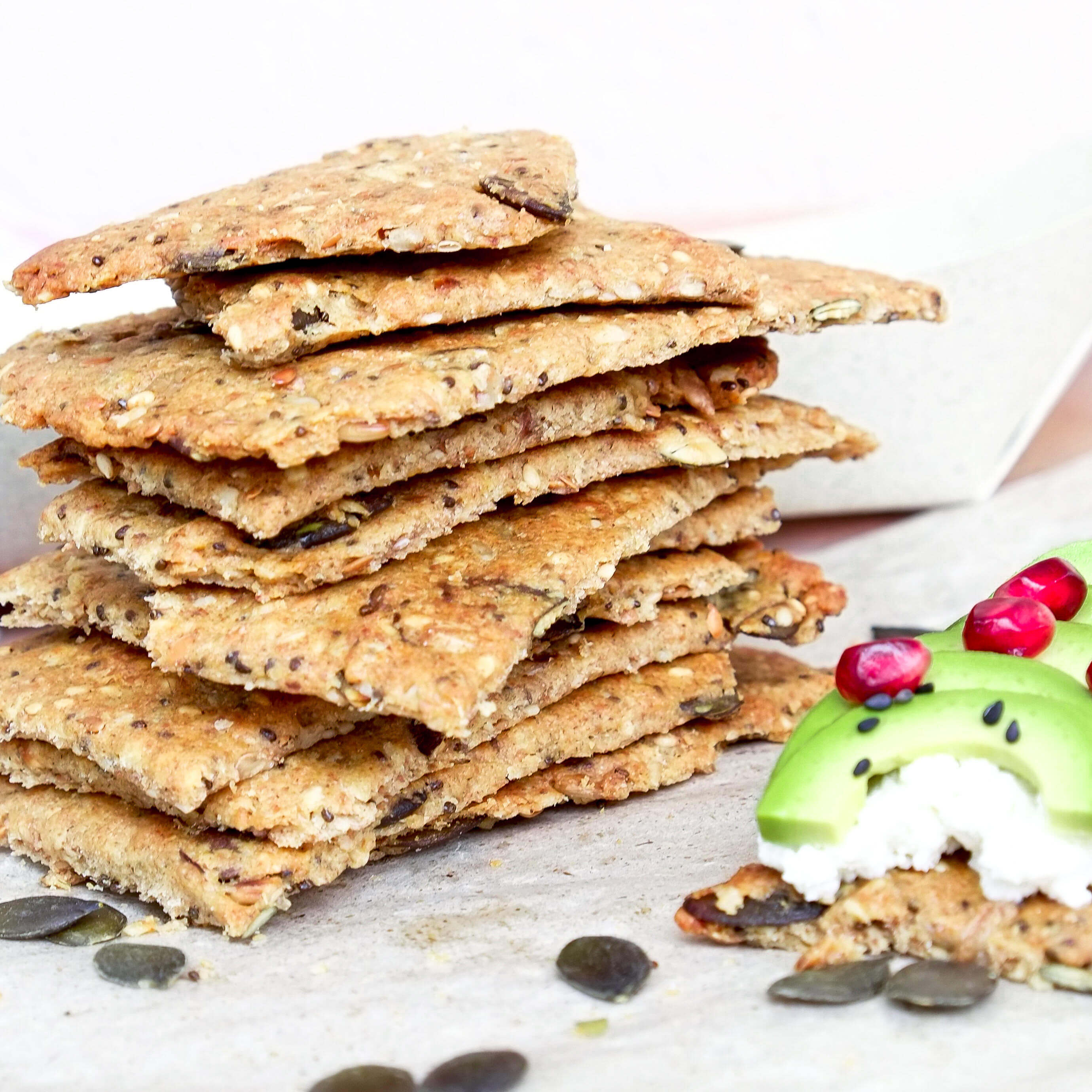 crackers aux graines equitable et bio