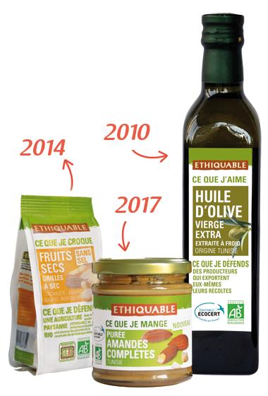 ethiquable produits tunisie bio équitable