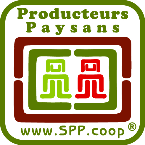 Symbole des producteurs paysans label commerce équitable