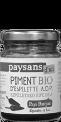 Piment d'espelette AOP commerce équitable bio - Paysans d'ici
