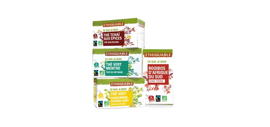 thé ethiquable bio commerce équitable