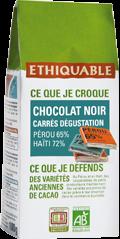 carré noir dégustation ethiquable-equitable-bio