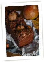 Cake poires et chocolat