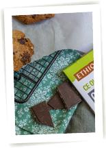 Cookies croquant fondant chocolat sans gluten
