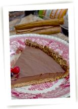 Tarte chocolat et épices équitables et bio