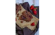 Cake fondant chocolat fruits rouges sans gluten