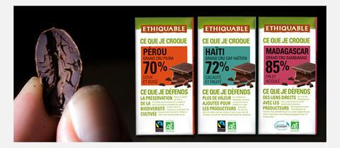 Cacao Awards chocolat noir équitable bio ethiquable