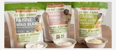 farine sans gluten bio commerce équitable ethiquable