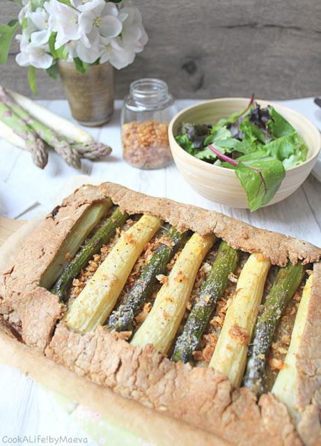 Tarte rustique aux légumes bio